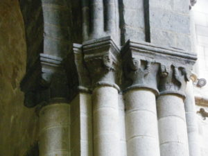 St.Malo 柱頭彫刻