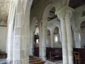 Langonnet 側廊
