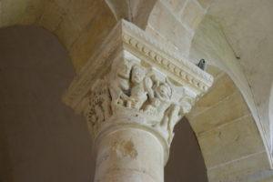 St.Reverien 柱頭彫刻
