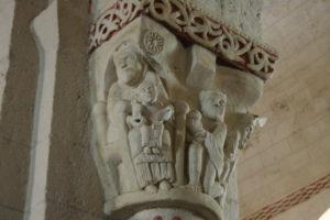 Ste.Engrace 柱頭彫刻