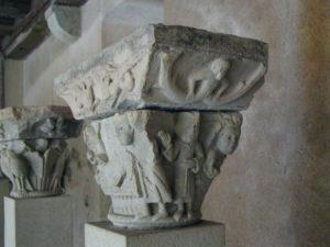 Conques 柱頭彫刻
