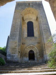 St.Amand de Coly 教会堂正面