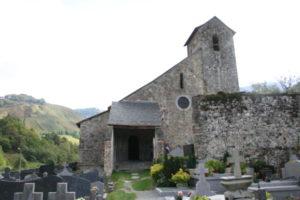 Ste.Engrace 教会堂正面