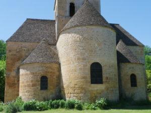 St.Leon sur Vezere 後背部