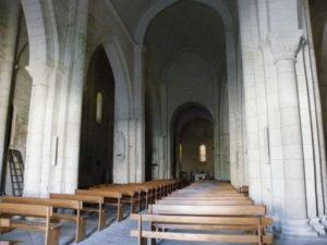 St.Privat des Pres 身廊