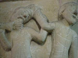 Thiviers 柱頭彫刻