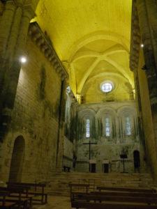 St.Amand de Coly 内陣