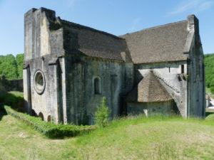 St.Amand de Coly 後背部