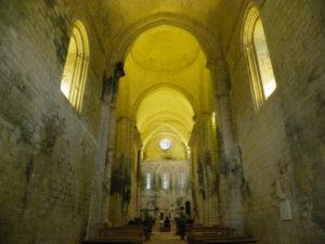 St.Amand de Coly 身廊