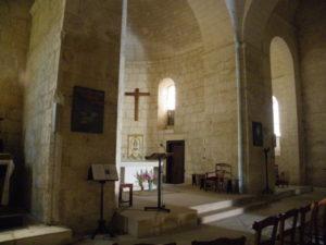 St.Privat des Pres 内陣