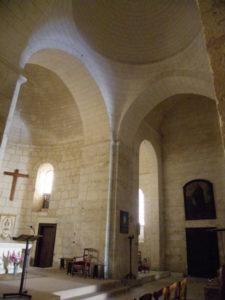 St.Privat des Pres 交叉部 ドーム