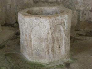 St.Privat des Pres 洗礼盤