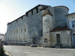 St.Privat des Pres 後背部