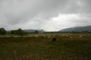 St.Just de Valcabrere の全景