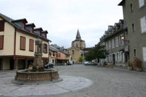 St.Savin de Lavedanの全景