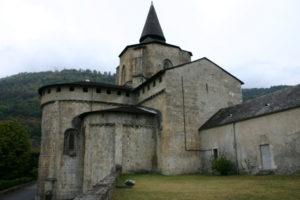 St.Savin de Lavedanの後背部