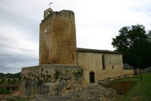 Valsの教会堂側面