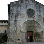St.Savin de Lavedanの教会堂正面