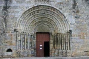 St.Savin de Lavedanの扉口
