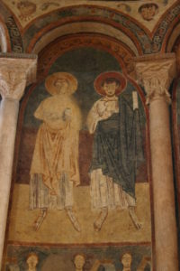 St.Lizierの壁画