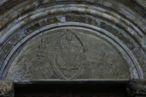 St.Savin de Lavedanのタンパン
