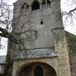 Bozoulsの教会堂正面