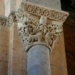 St.Gaudensの柱頭彫刻