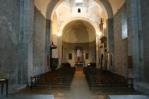 St.Savin de Lavedanの身廊