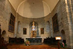 St.Savin de Lavedanの内陣