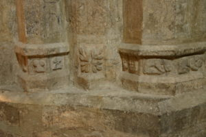 St.Lizierの台座彫刻