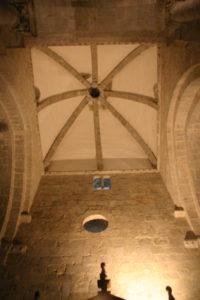 St.Bertrand de Comminge ナルテックス天井s