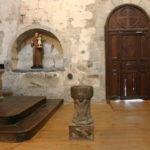 St.Savin de Lavedanの洗礼盤