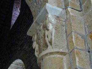 Varenの柱頭彫刻