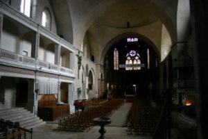 Cahorsの身廊