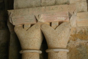 Carennacの柱頭彫刻