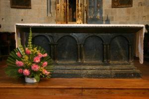 St.Savin de Lavedanの祭壇