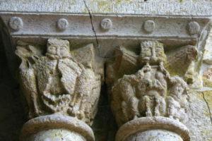Marcilhacの柱頭彫刻