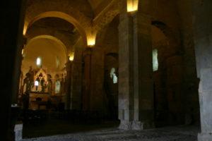 St.Just de Valcabrere の側廊