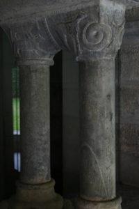 St.Savin de Lavedanの柱頭彫刻