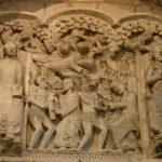 Souillacの扉口彫刻