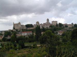 Chauvignyの全景