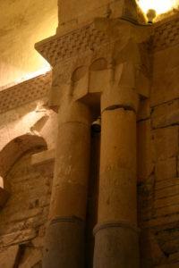 St.Just de Valcabrereの柱頭彫刻