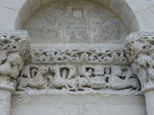 Fontaines de Ozillac 彫刻
