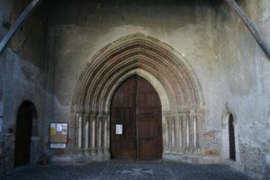 St.Lizierの扉口