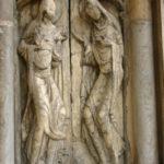 Moissacの扉口彫刻