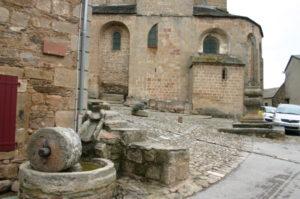 Castelnau-Pegayrolsの教会堂側面