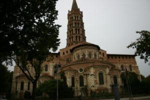 Toulouse / St.Serninの後背部