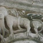 Marignacの柱頭彫刻