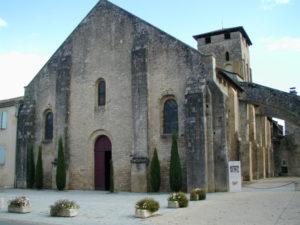 Varenの教会堂正面