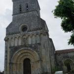 Riouxの教会堂正面